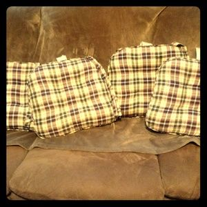 Longenberger seat cushions